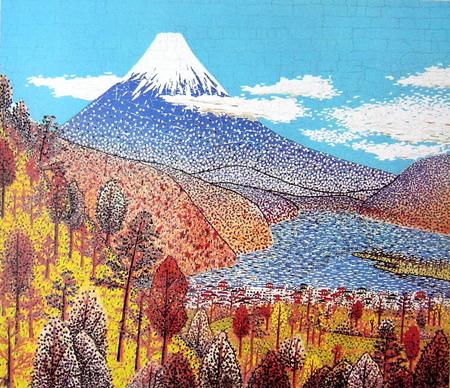 日本平からの富士の眺め