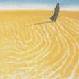 秋野不矩『砂漠のガイド』