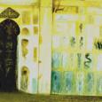 秋野不矩『廻廊の壁画』