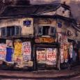 """広告のある家 """"パリの屋根の下"""""""