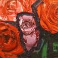林武『薔薇02』