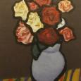 林武『薔薇05』