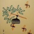 山下清『蜂』