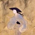 絹本著色日高河清姫図