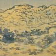 冬ばれの山
