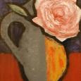 林武『薔薇』