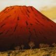 横山操『赤富士』