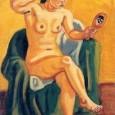 梅原龍三郎『裸婦鏡』