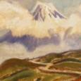 小山敬三「富士図」