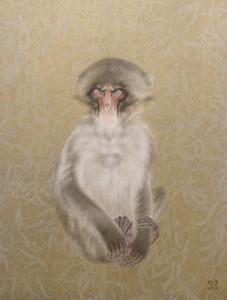 竹内浩一「猿」