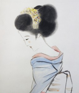 竹久夢二「舞妓」