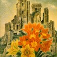 岡鹿之助『花と廃墟』