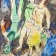Marc Chagall マルク・シャガール CLOWN