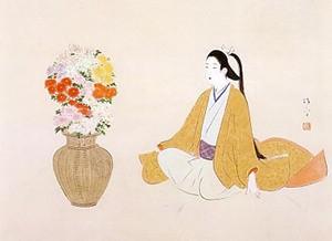 鏑木清方「菊」
