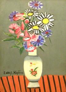 児島善三郎「小さな花」
