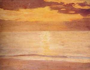 黒田清輝「海」shinwa 2001/09/22