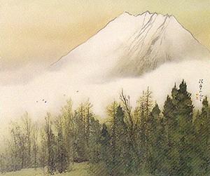 松林桂月「冨嶽」