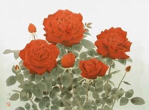 那波多目功一「薔薇」