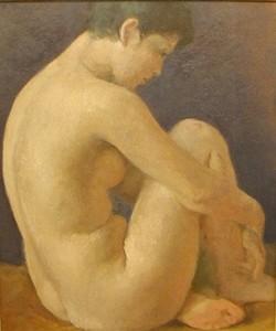 寺内萬治郎「裸婦」