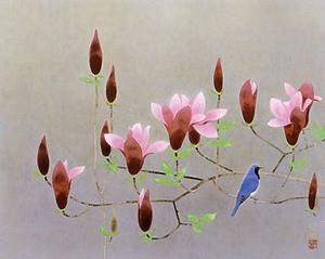 山口華楊「紫木蓮」shinwa 2003/11/15