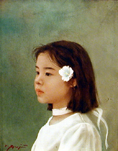 藤井勉「少女」 藤井勉「少女」