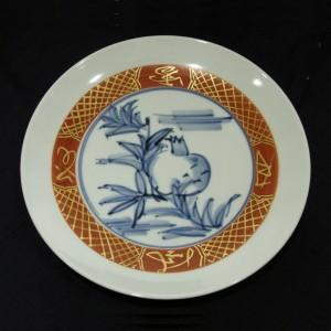富本憲吉「色絵金彩皿」
