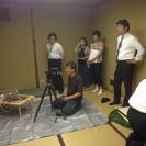 銀座室礼の撮影 築地の新喜楽にて 花田03
