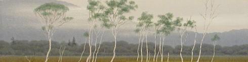 日本画、風景、作家、黒岩善隆、top3