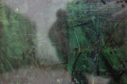 ベルナール・ビュッフェ Bernard Buffet 油彩作品 画面詳細 クラック01